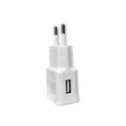 Wall Charger 1 Port USB, White