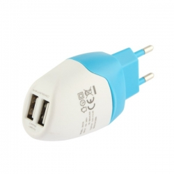 Wall charger 2 USB ports