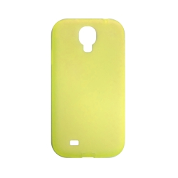 Silicone case for Samsung Galaxy S4 (i9500) - Yellow