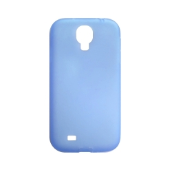 Silicone case for Samsung Galaxy S4 (i9500) - Light blue