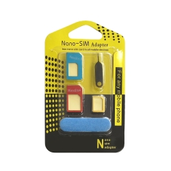 3 in 1 adapter from Nano / Micro SIM to SIM