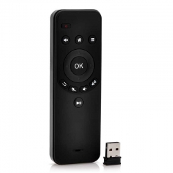 Air mouse - Wireless remote control + dongle USB