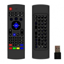 Air mouse - Wireless remote control with keyboard + dongle USB
