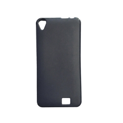 Silicone Satin case for Homtom HT16 - Black