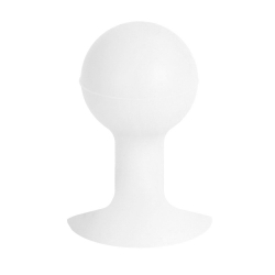 Silicone stand with suction cup - White