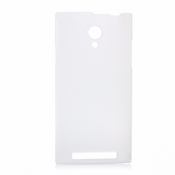 Hard plastic case for THL T6S, T6PRO, T6C - Semitransparent White